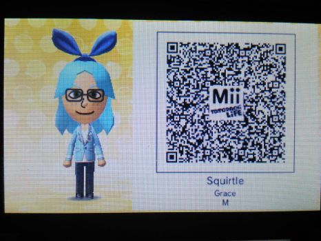 Tomodachi Life QR code - Me! by Squirtlefan