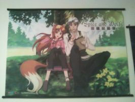 Spice and Wolf Poster by Bleach-Red-Abyss3