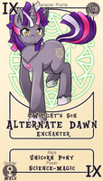 Character Card : Alternate Dawn by vavacung