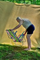 2015-06-10 Beach Chair Poses 37 by skydancer-stock