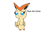Flare the Victini by pokelover897