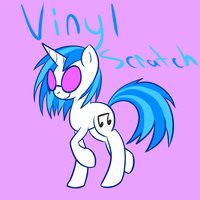 Vinyl Scratch by Blaisie
