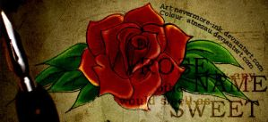 Rose Name Sweet by atnezau