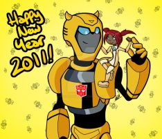 Happy New Year 2011 by daughterofMyou