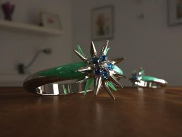 Edelweiss ring by R-A-G-E