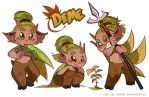 Deme Reference Sheet by Curly-Artist