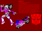 Nexus REVISED Arcee Profile by InvaderToum