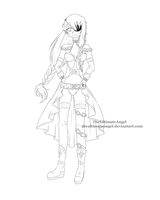 General Myna- Lineart by TheULTImateAngel