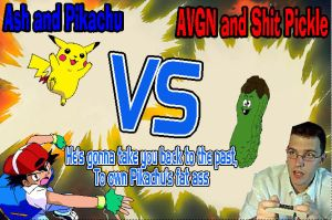 AVGN VS Ash by ocarinaoftimewoman