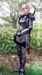 Lightning Dark Knight Garb Final Fantasy Cosplay by AlysonTabbitha