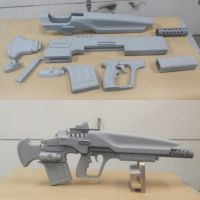Hawksaw Pulse Rifle Prop from Destiny/Suros PDX by GS-PROPS