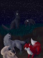 The Pack by Chardove