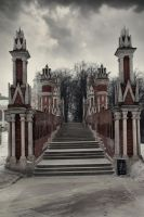 Palace Bridge 2 by Michael-Rayne