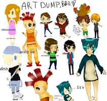 HNGGG MORE ART DUMPS by Cris-Gee