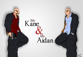 Mr Kane and Mr Aidan by Adder24