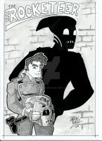 Cliff's Shadow - The Rocketeer by Drew0b1