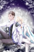 Otayuri: By the Moonlight by ototobo