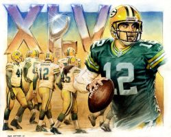 Packers win Super Bowl by Reverie-drawingly