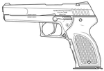 Archos Pistol by sharp-n-pointy