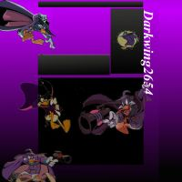 Darkwing2654 Youtube Background by NegaDuck13