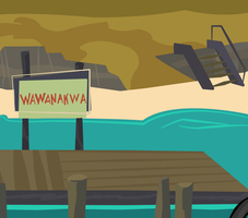 TDI Dock Background by HitMeWithBrokenLeave