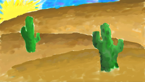 Cactus by xDNarnian