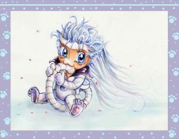 ..+ Grimmjow the cat +.. by DeadlyNinja