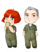 BUIC and IBM 728 Chibis by BellaCielo
