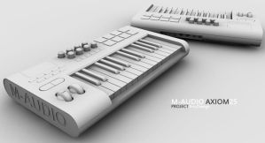 MAudio Axiom25 Project 4 by 3DEricDesign