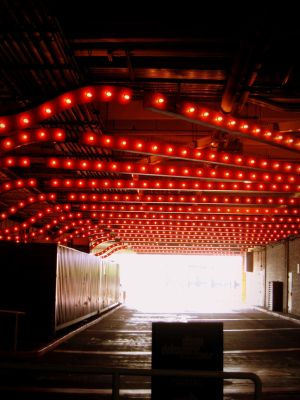 Red lights in Chicago by unprankster