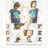 Lee Taemin wall-ban-icon set by tweakytrinket