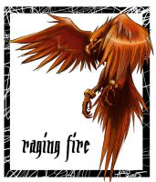 raging fire - phoenix by Gaara666