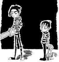 Chainsaw Trouble by phoenixstarr44