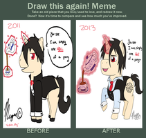 Draw this Again: 2011-2013 by zafara1222