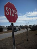 Stop Sign by Daato-Omata