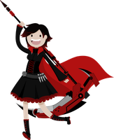 RWBY Ruby Rose by Yuuchou