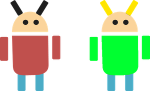Android Edward and Rodney by ETSChannel