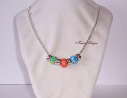 Nayru's Farore's Din's Pearl Necklace Zelda WW by TorresDesigns