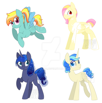 MLP Ship Adopts [Open/Paypal Only] by ToodaIoo