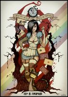 Alice in Zombieland. by negatron