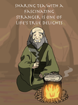 Uncle Iroh - Sharing Tea With a Stranger by faithless12
