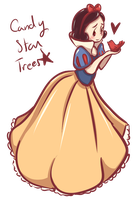 Snow white by candystartrees