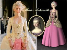 Queen Marie Antoinette by Nurycat