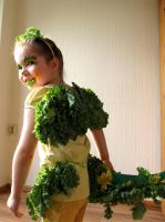 A dragon dressed in kale. by F-A