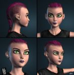 Germaine 3D by jimathers