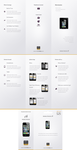 Minimalist brochure iPhone 4 by SheikhNaveed