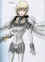 RQ: Clare - Claymore by BlackLeatheredOokami