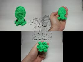 Crocheted Cuttlefish by Kame-ami