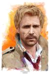 Matt Ryan as Constantine by j2Artist