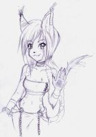 just a random anthro by Riiko96